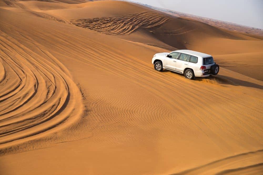 Dune Bashing Desert