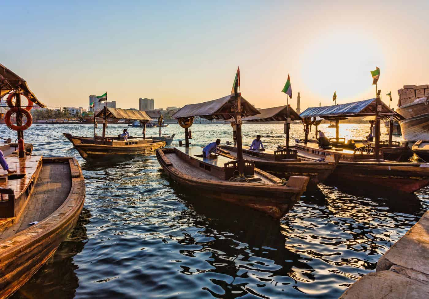 Old Town, Water Taxi Trip, Dubai Creek