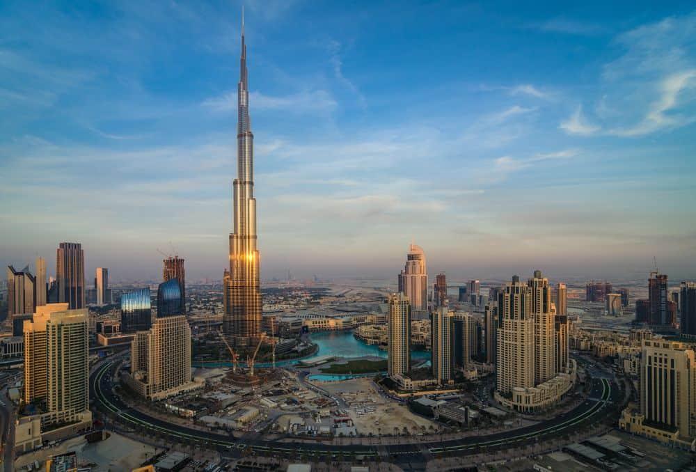 Burj Khalifa - 'At the top on level 124'