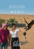 HERITAGE FALCONRY & WILDLIFE SAFARI FOOD MENU