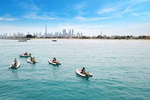 Logo Island - Parking Spot of Dubai's Royal Yacht